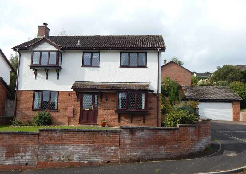 4 Bedrooms Detached House for sale in Newbery Close, Colyton, Devon