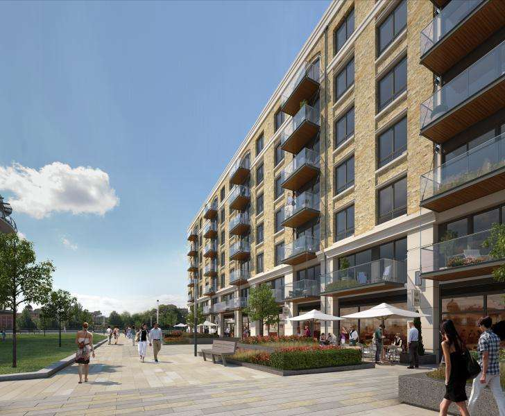 2 Bedrooms Flat for sale in Faulkner House, Fulham Reach W6