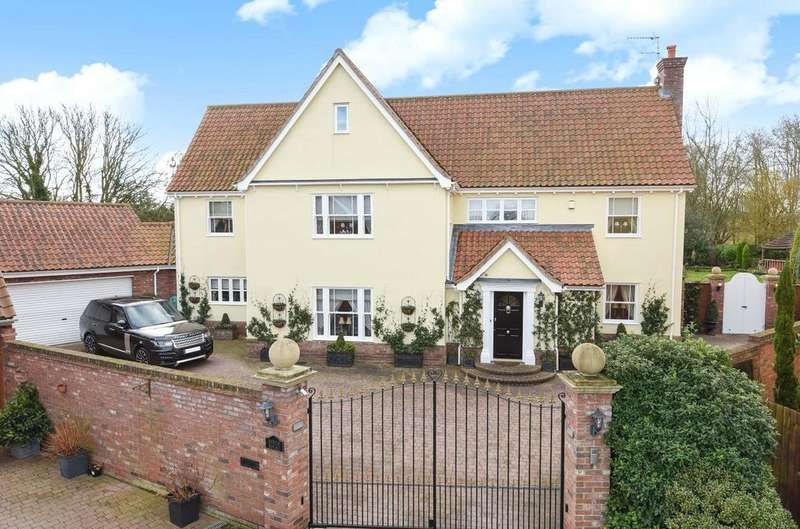 5 Bedrooms Detached House for sale in The Birches, Bury Road, Beyton, Suffolk, IP30