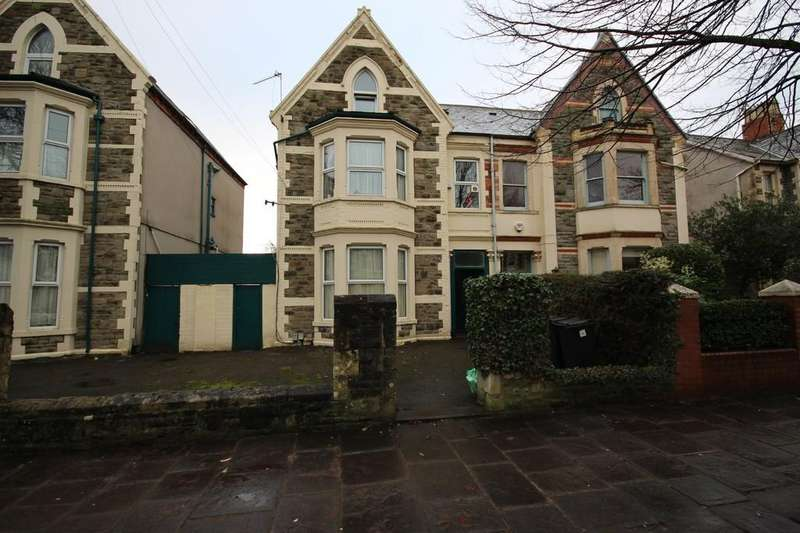 5 Bedrooms Semi Detached House for sale in Oakfield Street, Roath, Cardiff