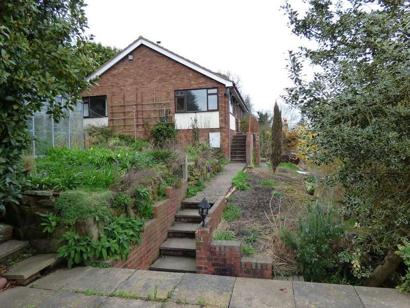 3 Bedrooms Detached Bungalow for sale in Lower Way, Upper Longdon