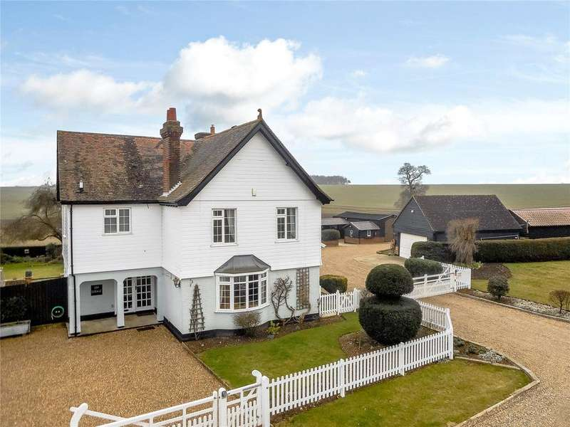 4 Bedrooms Detached House for sale in Sturmer, Haverhill, Suffolk