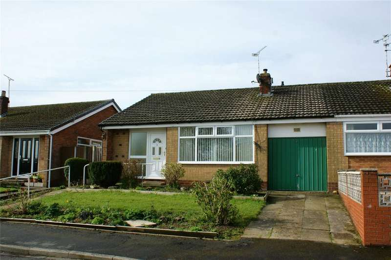 2 Bedrooms Semi Detached Bungalow for sale in Penrhyn, Marchwiel, Wrexham, LL13