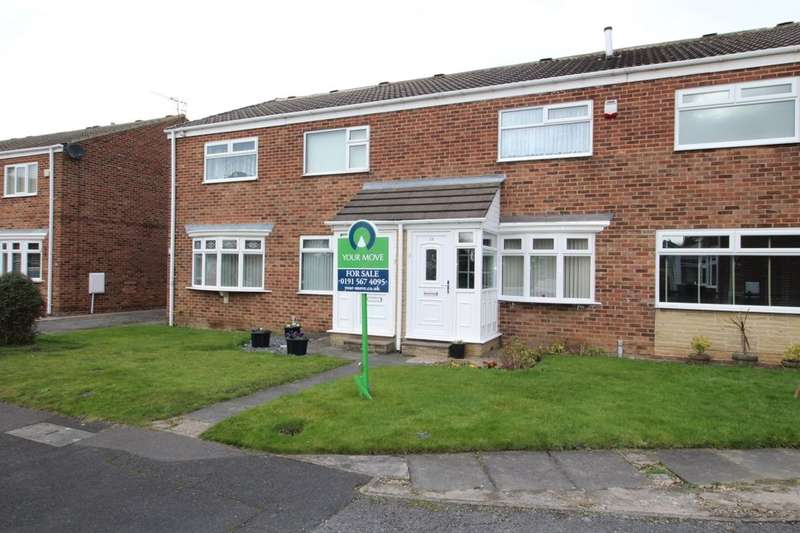 2 Bedrooms Property for sale in Ainthorpe Close, Tunstall, Sunderland, SR3