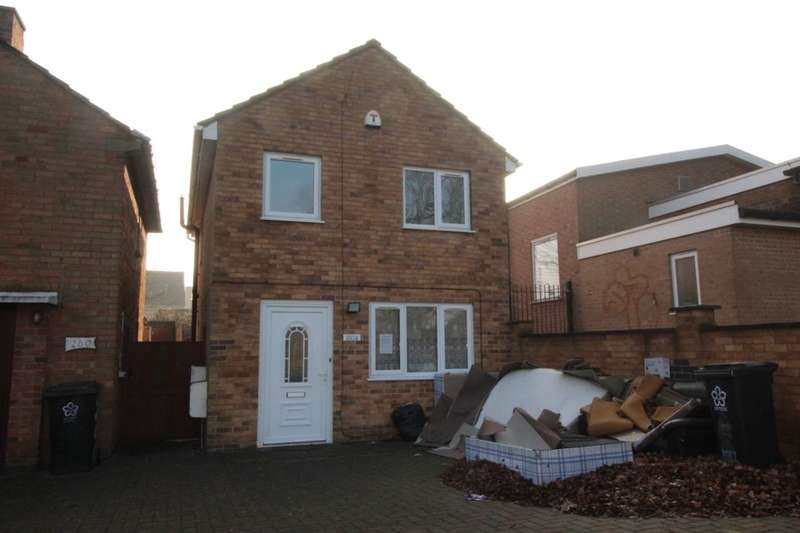 3 Bedrooms Detached House for sale in Braunstone Avenue, Leicester, LE3