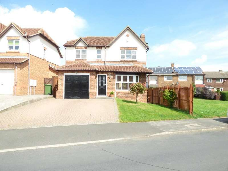 4 Bedrooms Detached House for sale in Willow Drive, Trimdon Station