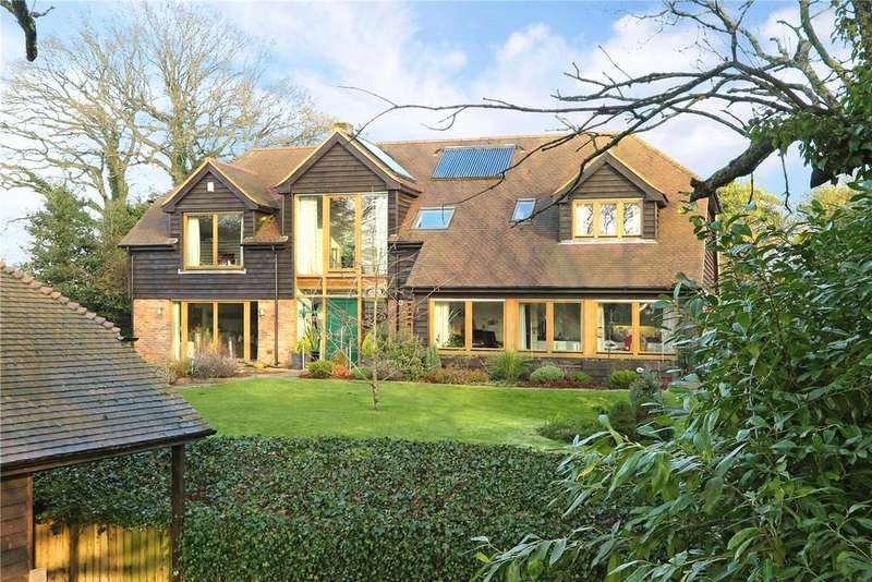 5 Bedrooms Detached House for sale in Hale House Lane, Churt, Farnham, GU10