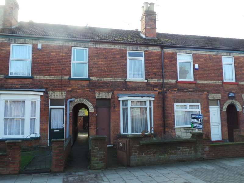 2 Bedrooms Terraced House for sale in Lea Road, Gainsborough
