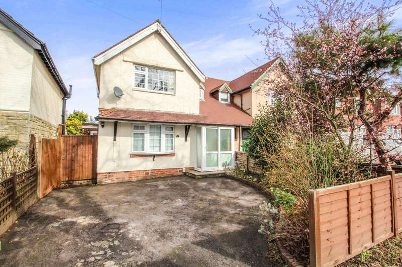 3 Bedrooms Semi Detached House for sale in Garfield Road, Southampton, SO19