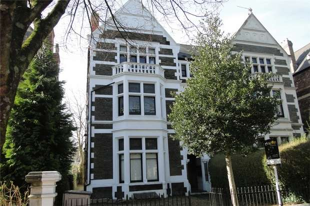 2 Bedrooms Flat for sale in Cathedral Road, Pontcanna, CARDIFF