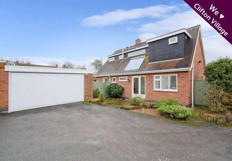 4 Bedrooms Detached House for sale in Village Road, Clifton Village, Nottingham, Nottinghamshire, NG11