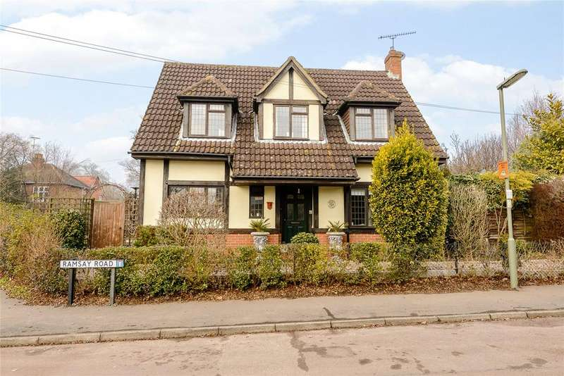 3 Bedrooms Detached House for sale in Ramsay Road, Windlesham, Surrey