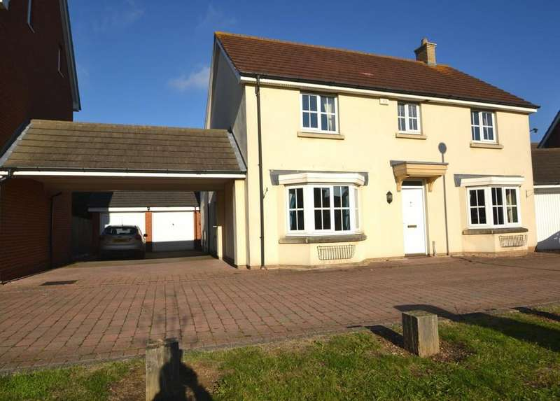 4 Bedrooms Detached House for sale in Baden Powell Close, Great Baddow