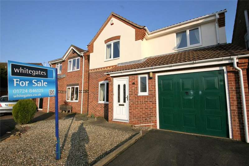 3 Bedrooms Detached House for sale in Burdock Road, Scunthorpe, North Lincolnshire, DN16