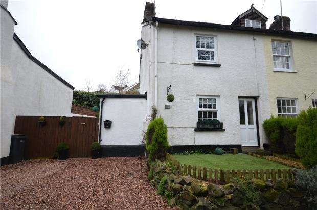 2 Bedrooms End Of Terrace House for sale in Village Road, Christow, Exeter, Devon