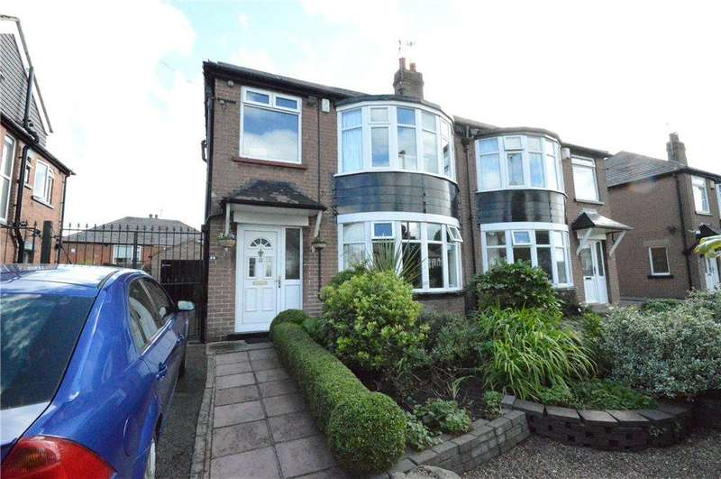 4 Bedrooms Semi Detached House for sale in Shadwell Walk, Moortown, Leeds