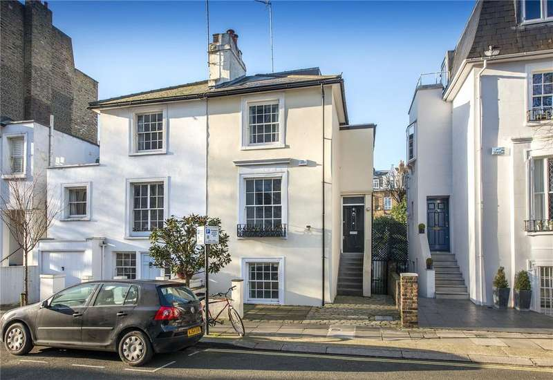 4 Bedrooms Semi Detached House for sale in Monmouth Road, Notting Hill, London, W2