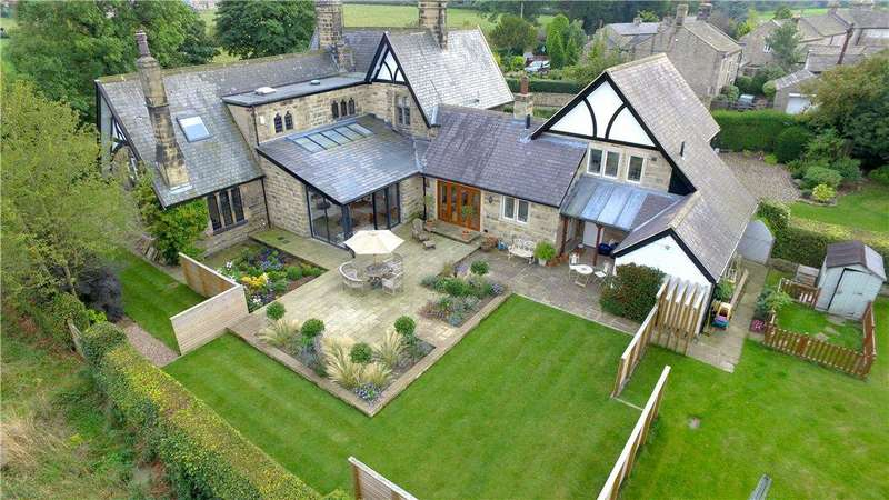 5 Bedrooms Detached House for sale in Old School House, Weeton Lane, Weeton, Leeds, North Yorkshire