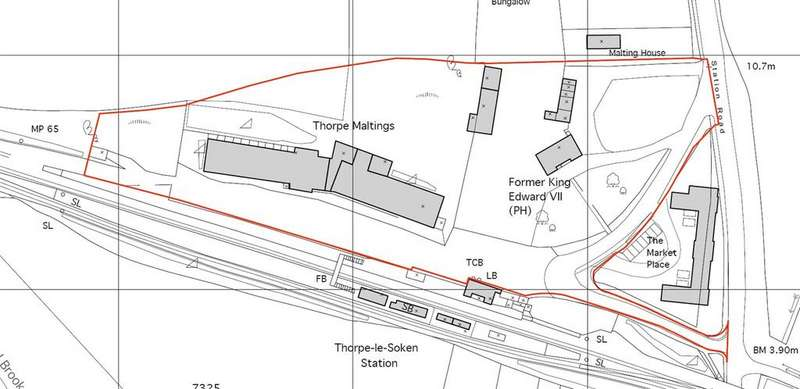 Land Commercial for sale in Maltings Road, Thorpe-le-Soken, Clacton-on-Sea, Essex, CO16