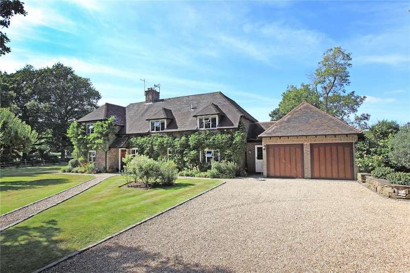 4 Bedrooms Detached House for sale in Dairy Lane, Crockham Hill, Edenbridge, Kent, TN8