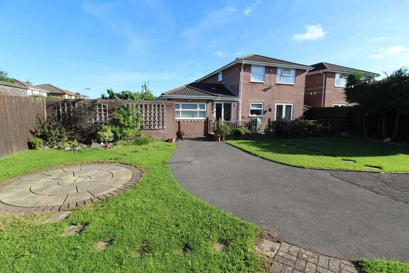 4 Bedrooms Detached House for sale in Powderham Drive, Grangetown, Cardiff