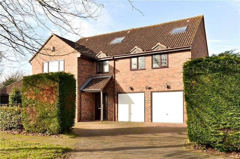 5 Bedrooms Detached House for sale in Boulters Lock, Giffard Park, Milton Keynes, Buckinghamshire
