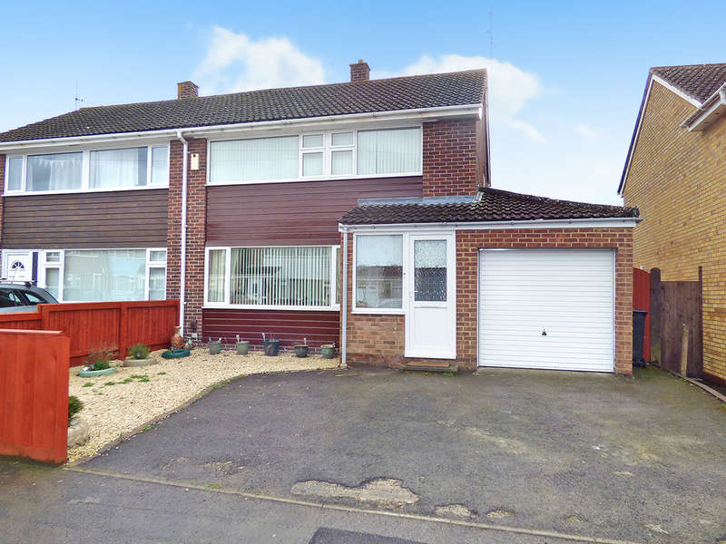 3 Bedrooms Semi Detached House for sale in Hawkeridge Park, Westbury