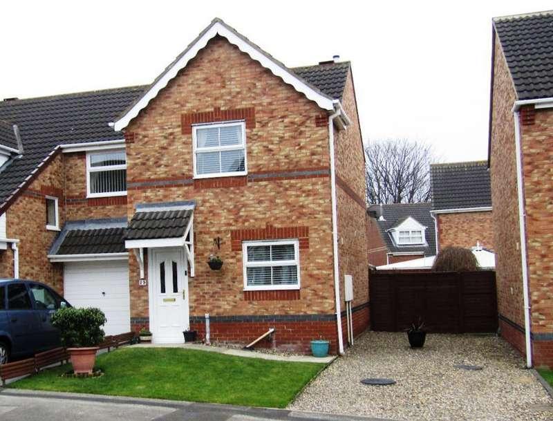 2 Bedrooms Semi Detached House for sale in Jubilee Court, Gateshead, Tyne Wear, NE8 2EQ