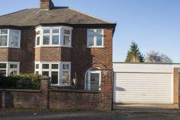 3 Bedrooms Semi Detached House for sale in The Crescent, Woodthorpe, Nottingham, NG5