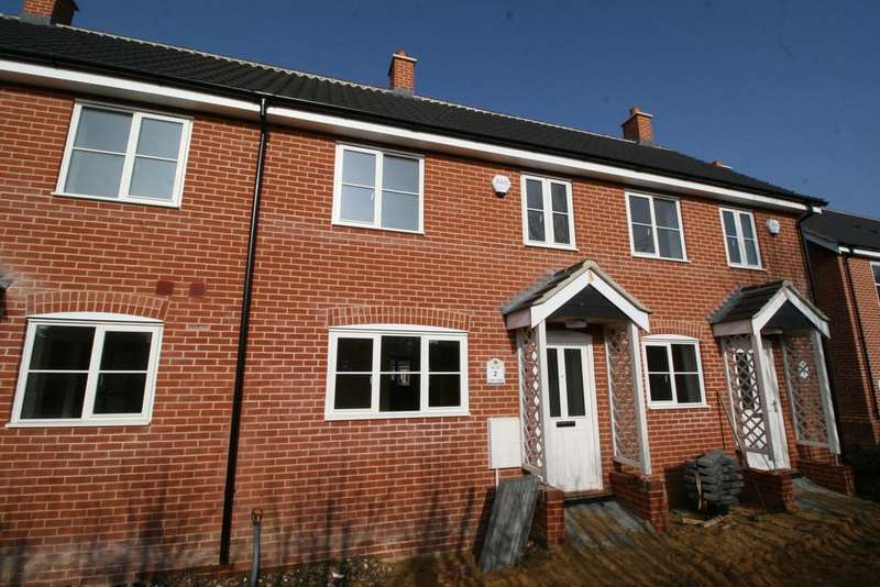 2 Bedrooms Terraced House for sale in The Croft, Sibton, Nr Saxmundham