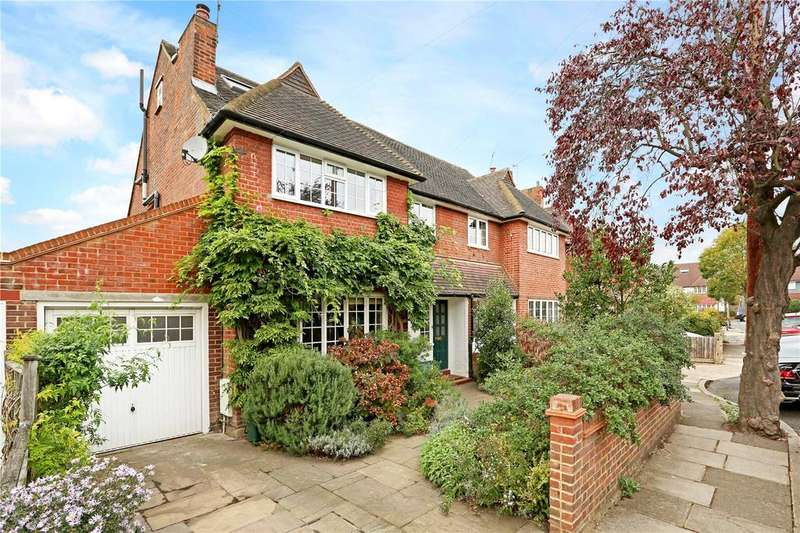 5 Bedrooms Semi Detached House for sale in Burdenshott Avenue, Richmond, Surrey, TW10