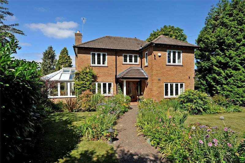 4 Bedrooms Detached House for sale in Stoke Paddock Road, Stoke Bishop, Bristol, BS9