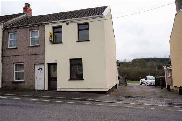 2 Bedrooms End Of Terrace House for sale in High Street, TUMBLE, Llanelli