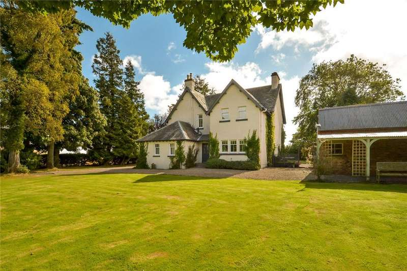 4 Bedrooms Detached House for sale in Meikle Obney House, Waterloo, Bankfoot, Perth, PH1