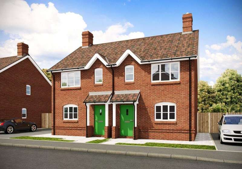 2 Bedrooms Semi Detached House for sale in Sibdon Fields, Watling Street, Craven Arms, Shropshire