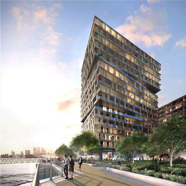 3 Bedrooms Flat for sale in Royal Wharf, London, E16