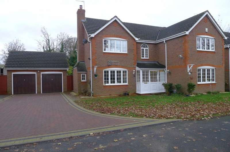 5 Bedrooms Detached House for sale in Wood Hayes Croft, Essington, Wolverhampton