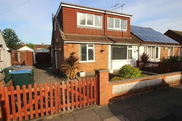 3 Bedrooms Semi Detached Bungalow for sale in Wroxall Drive, Coventry