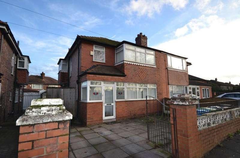 4 Bedrooms Semi Detached House for sale in Kingsway, East Didsbury