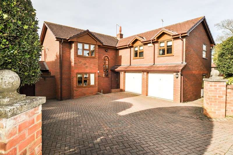 5 Bedrooms Detached House for sale in Church Road, Astwood bank, Redditch