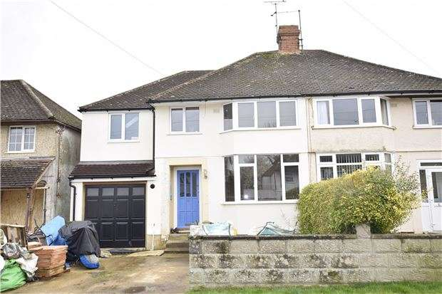 5 Bedrooms Semi Detached House for sale in Netherwoods Road, Headington, OXFORD, OX3 8HF