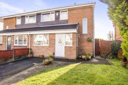3 Bedrooms Semi Detached House for sale in Bispham Avenue, Farington Moss, Leyland, ., PR26