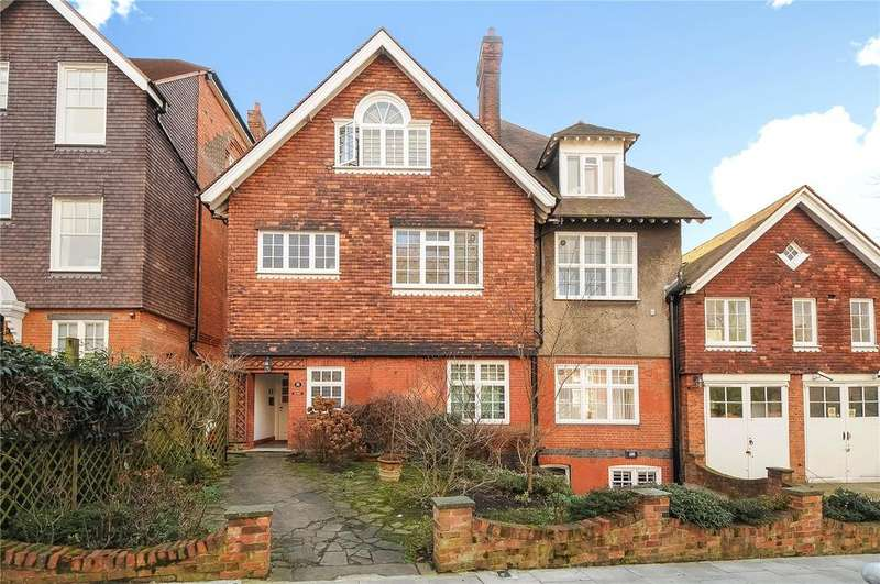 3 Bedrooms Flat for sale in Lyndhurst Road, Hampstead, London, NW3