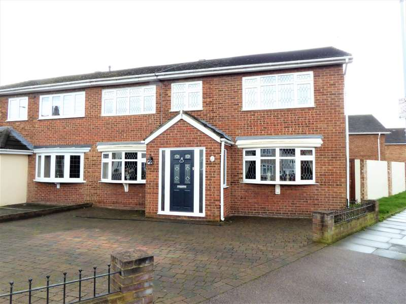 5 Bedrooms Semi Detached House for sale in Nicola Terrace, 341 Long Lane, Bexleyheath Kent, DA7 5JT