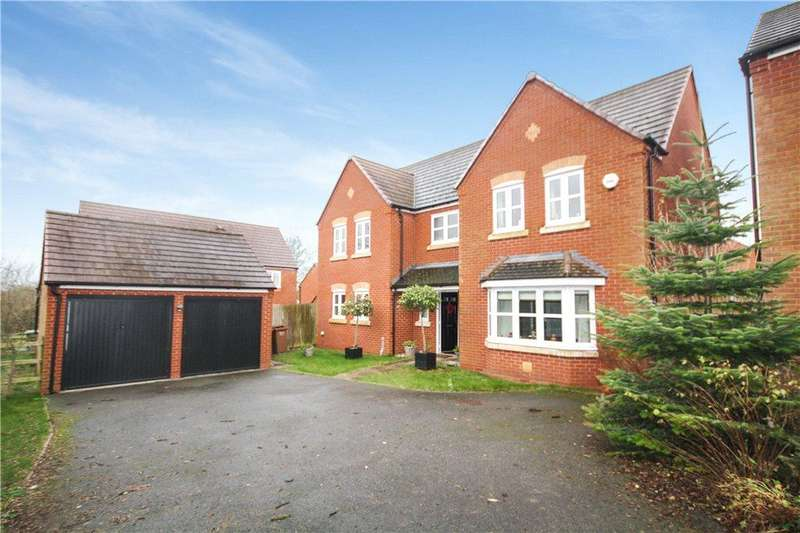 4 Bedrooms Detached House for sale in Rudd Close, Worcester, Worcestershire, WR5