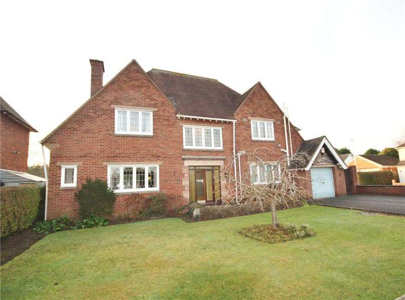 5 Bedrooms Detached House for sale in Hill View Road, Worcester, Worcestershire, WR2