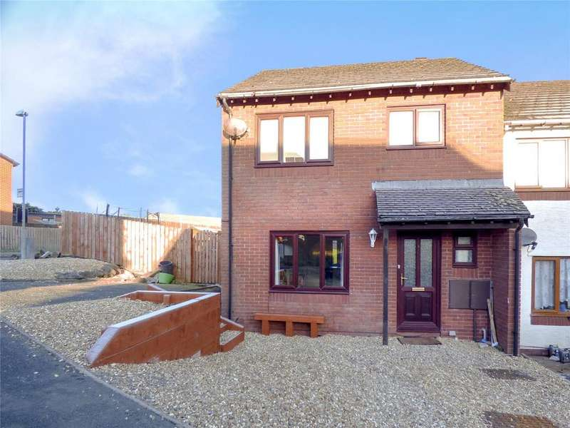 3 Bedrooms Terraced House for sale in Hillcrest Close, Llandrindod Wells, Powys