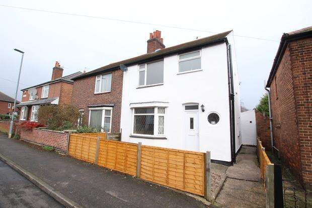 3 Bedrooms Semi Detached House for sale in Belvoir Street, Melton Mowbray, LE13