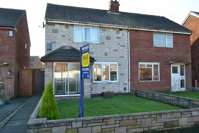 2 Bedrooms Semi Detached House for sale in Eccles Grove, Clock Face, St. Helens