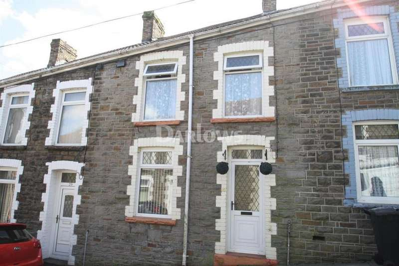 3 Bedrooms Terraced House for sale in Pritchard Street, Treharris